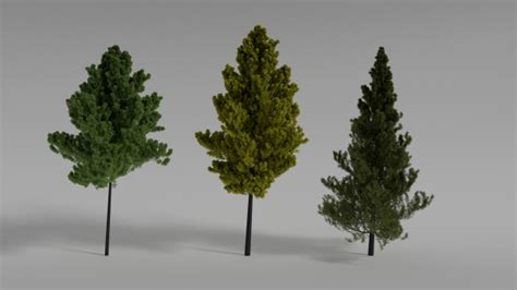 tree 3d models free 3d tree download