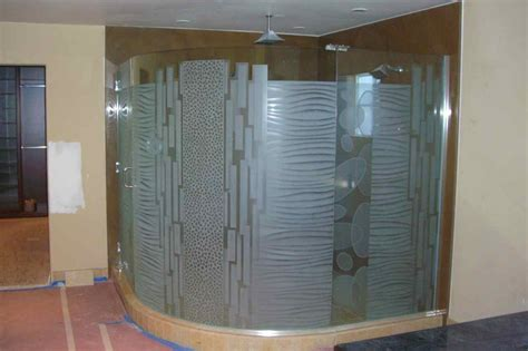 Shower Doors Glass Types Type Frosted Glass Shower Doors Modern Design Frosted