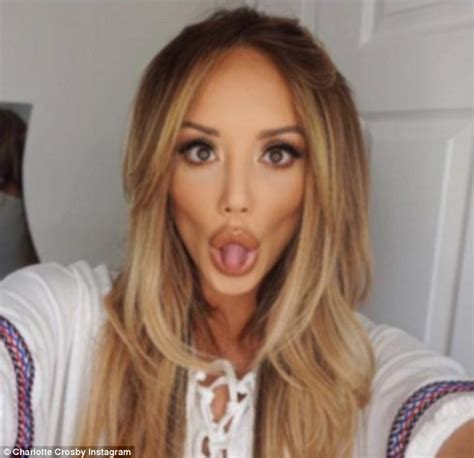hair shows in charlotte charlotte crosby shows off her pout and sculpted
