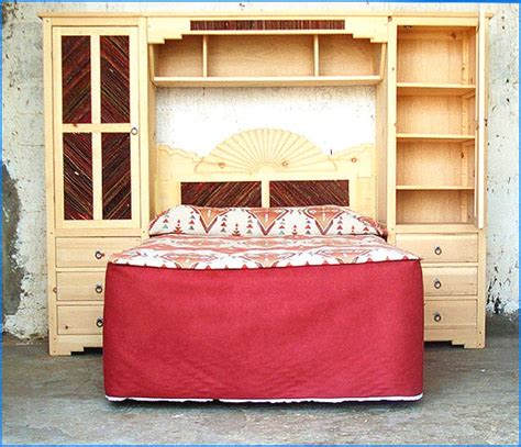 bedroom wall unit headboard salt cedar twig custom bedroom furniture
