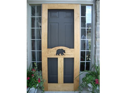 Screen Door by Rustic Lighting And Decor For Cottage Cabin Or Lodge