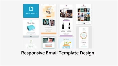 How To Create A Html Email Template Responsive Email Template Design Youtube How To Make A Responsive Email Template