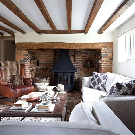 Living Room Ideas With Inglenook Fireplace Mix And Match Sofas Cosy Living Rooms