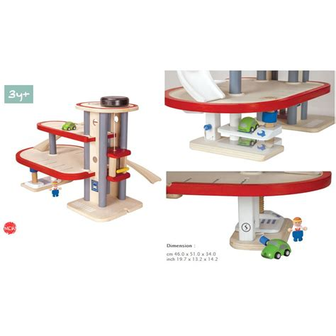 Plan Toys Garage by Plan Toys Parking Garage New 2013 Model 6611