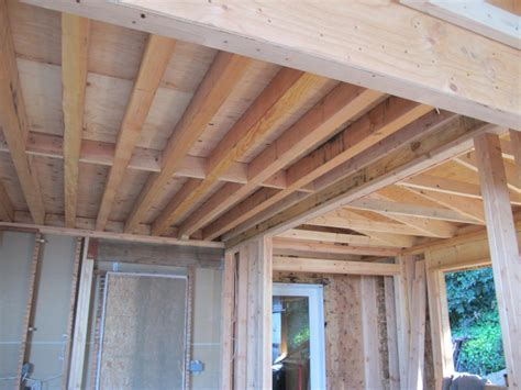 How Thick Are Floor Joists by Framing Nears Completion On The Richmond Addition