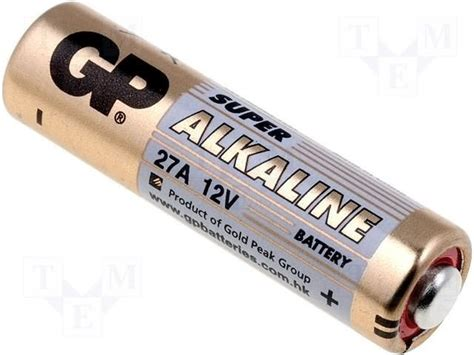 Battery Gp 27a by Gp Gp Alkaline Batterij 27a 12v Beterbatterij
