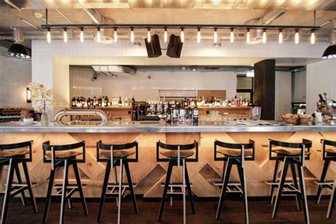 design cafe zürich tin sheet counter top loweneck restaurant and bar by dyer