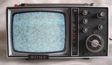 transistor tv 1965 sony micro transistor television