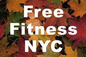 Usually free workouts only happen in the summertime but fall is