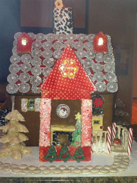 gingerbread house creative food ideas pinterest