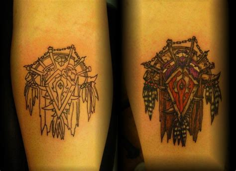 logo horde tattoo horde symbol by lorcangallagher on deviantart