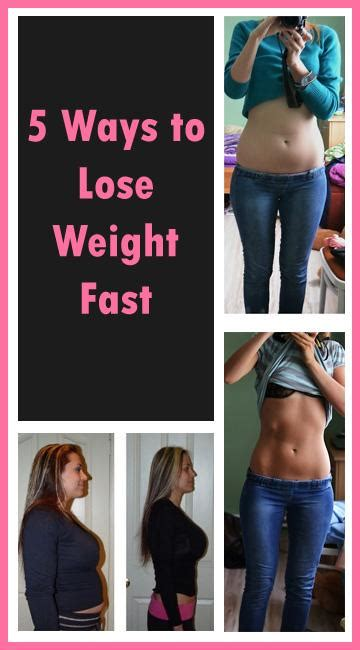 Ways To Shed Pounds Fast by 5 Ways To Lose Weight Fast Trusper
