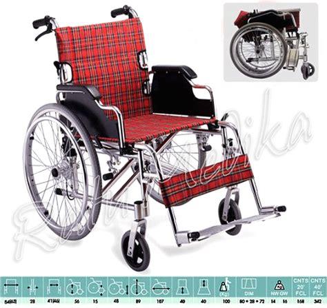 Kursi Roda Aluminium kursi roda aluminium travelling ringan