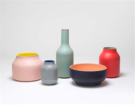 design milk videos seams ceramic centerpieces by benjamin hubert for bitossi