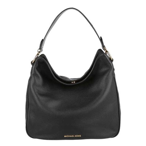 michael michael kors heidi black medium shoulder bag