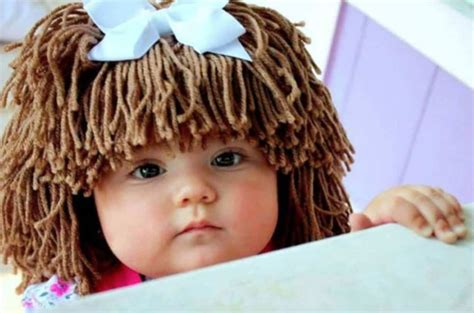 free crochet cabbage patch hair baby hat crochet cabbage patch hats pattern video tutorial