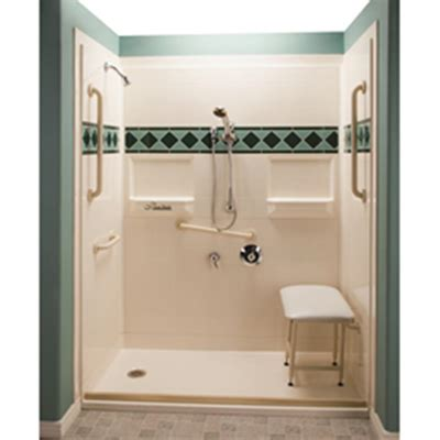 what is 1 75 bath five piece 60 x 30 barrier free shower with 1 75 inch