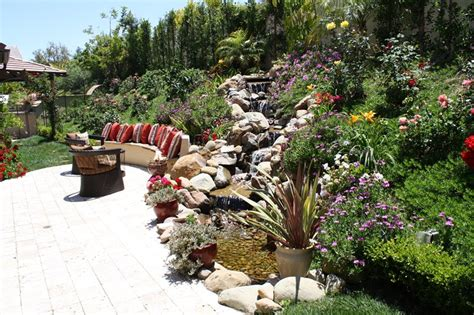 Garten Ideen 5091 by Pond And Waterfall Chatsworth Ca Photo Gallery