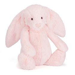 Jelly Cat Large Bashful Pink Bunny jellycat baby toys