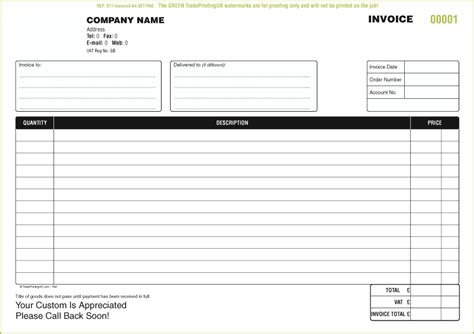 Ncr Form Template free invoice sets templates invoice forms 163 40 invoice