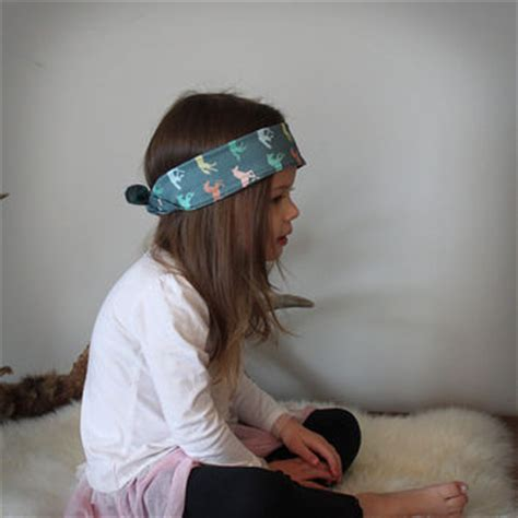 Headband Babyhair Pin Kidbandana Elegante Blue shop bandana headbands on wanelo