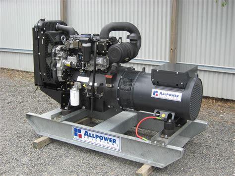 Genset Opent 30 Kva New Murah perkins generator 30kva single phase 240 volts for sale trade farm machinery australia