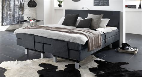 Bett Elektrisch Verstellbar by Elektrisch Verstellbares Boxspringbett Lanark Betten De