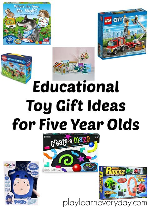 gift ideas for a 5 year educational gift ideas for 5 year olds play and