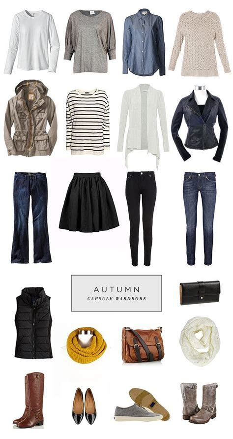 perfect capsule wardrobe minimalist style capsule wardrobe autumn edition