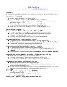 resume examples monster - Monster Resume Samples
