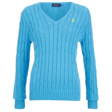 ralph womens cable knit jumper polo ralph s jumper turquoise