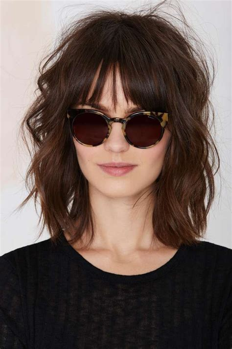 lob for thin wavy hair best 25 short wavy hairstyles ideas only on pinterest