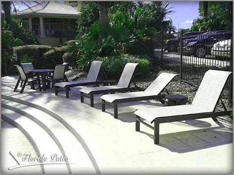 sling patio furniture commercial grade wholesale prices