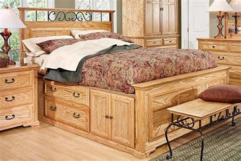 captains bed queen thornwood queen size captain bed with storage at gardner white