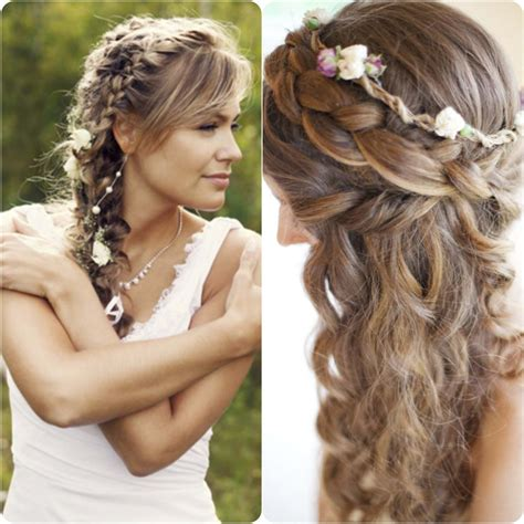 braided hairstyles for with hair 20 braided hairstyles for wedding brides 2016 stylo planet