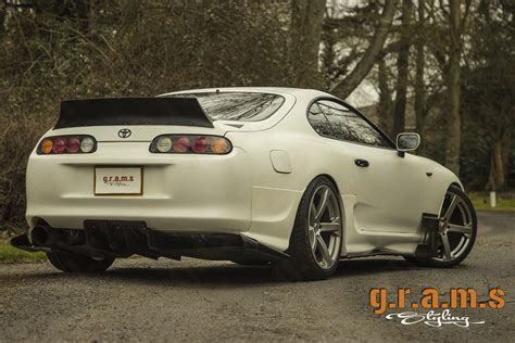 rocket bunny supra toyota supra mkiv grams styling ducktail rocket bunny