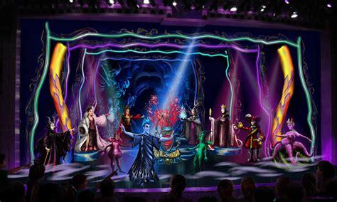 halloween themes line announcement disney villains set sail with disney cruise