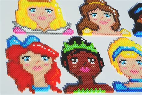 Rub Design Vorlage 1000 Images About Hama Quot Princesas Disney Quot On Disney Perler Bead Patterns And