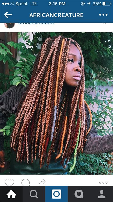 how to do faux loca 21 best yarn braids images on pinterest braid hair