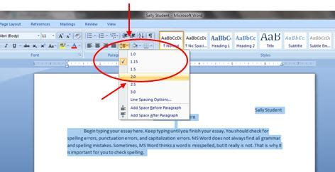 How To Make Your Paper Spaced - ms word keyboarding tips theroommom