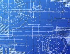 Blue Print Maker Blueprint Architecture Blue Backgrounds And Technology