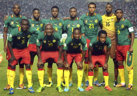 Kaos Cameroon Original Worldcup cameroon fifa world cup 2014 history qualifier players achievements