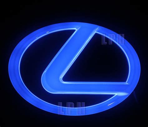 lexus lit price 4d cold light badge light for lexus ls270 rx450h