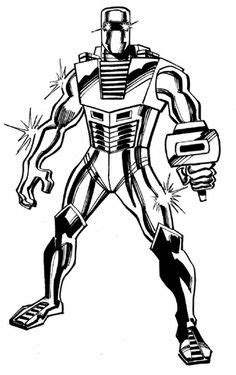 Rom the Spaceknight, Silver Surfer & Nova Comic Art