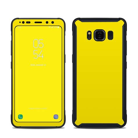 Skin Premium Protector Samsung S8 Black Matte Texture solid state yellow samsung galaxy s8 active skin istyles
