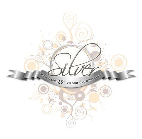 Wedding Anniversary Logo by Silver Logo Logo I Created For My Parents 25th Wedding