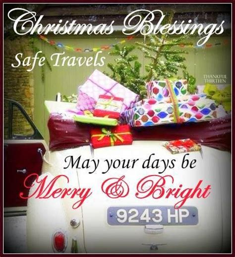 christmas blessings safe travels pictures   images  facebook tumblr pinterest