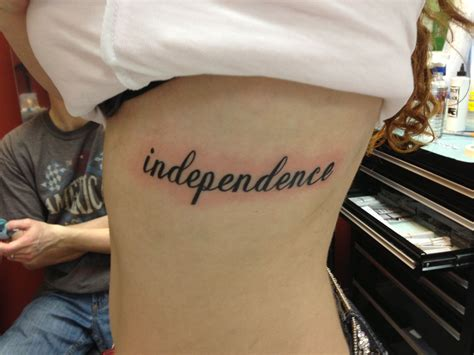independent tattoo independence tattoos