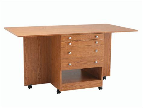 inspira combo sewing cutting table oak