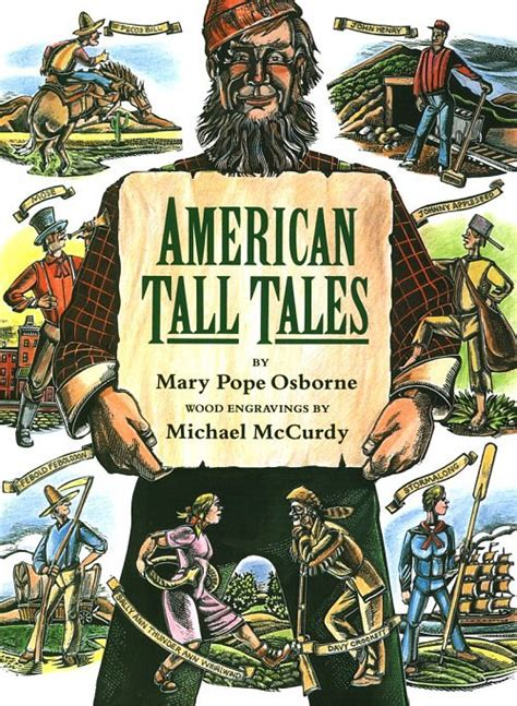 An American Folktale Of Exaggerations Timepassages Tales
